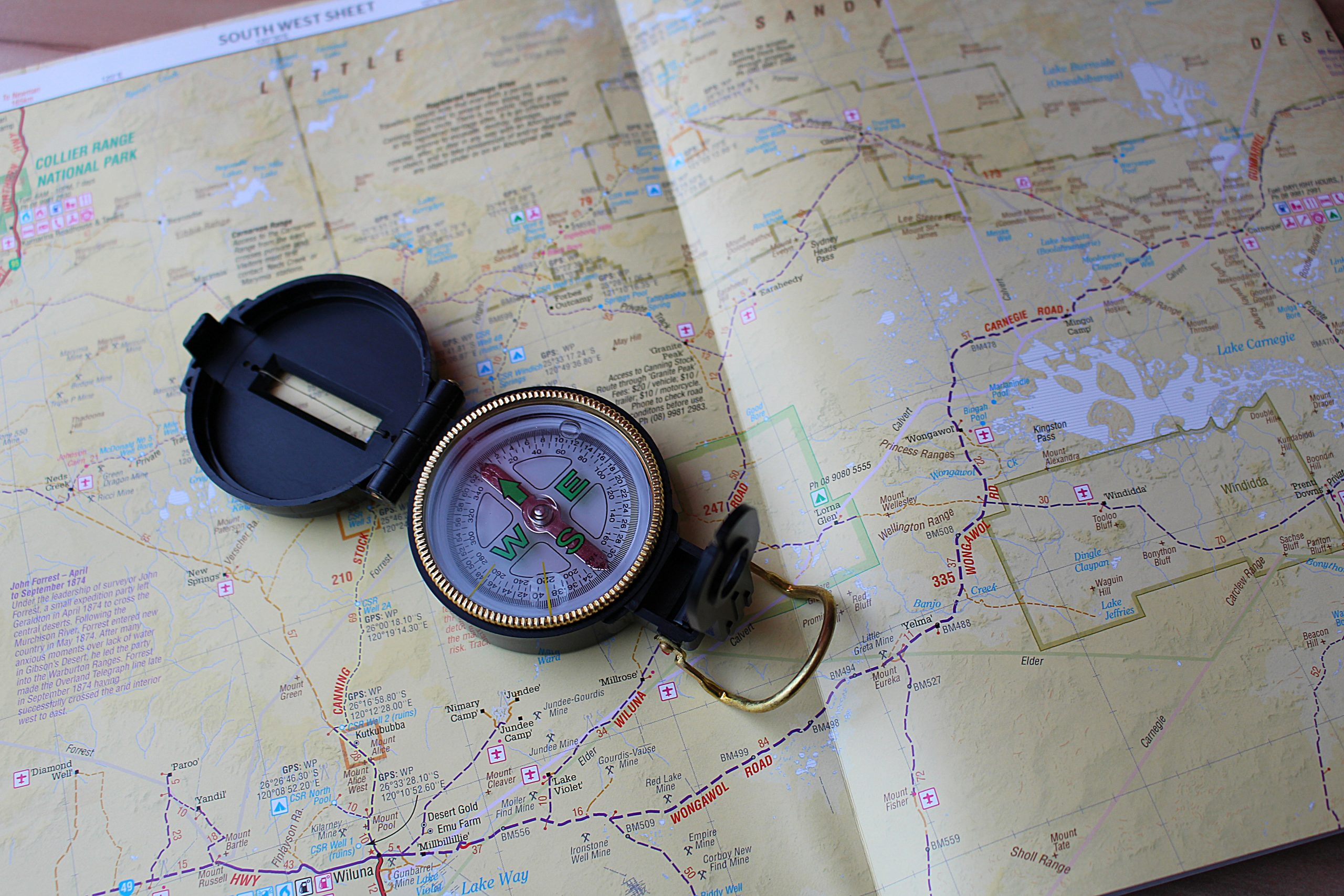 Survival Skills, Learn to Use a Compass and Map